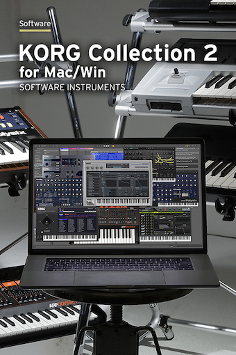 KORG Collection 2 for Mac/Win